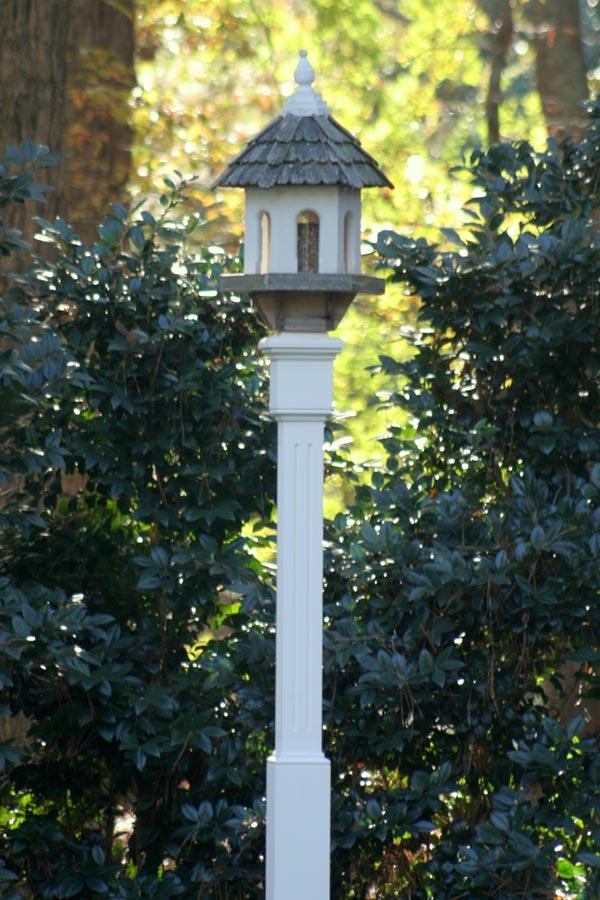 Garden Accents Bird Feeder Bird House Posts Hunter